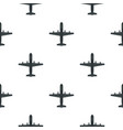 large aircraft with missiles pattern flat vector image vector image