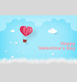 love valentine day card vector image vector image