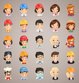 professions icons set1 3 vector image vector image