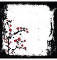valentine grunge vector image vector image