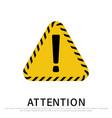Warning attention sign