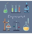 the laboratory Experiment vector image