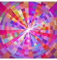 Abstract Colorful Tunnel vector image vector image