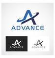 advance symbol vector image vector image