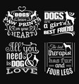 collection trendy quote typographical vector image vector image