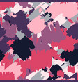 geometric abstract spots seamless pattern hand vector image vector image