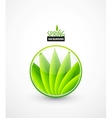 Green leaves spring concept vector | Price: 1 Credit (USD $1)