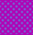repeating geometrical stylized snowflake pattern vector image vector image