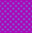 Repeating geometrical stylized snowflake pattern