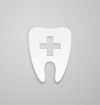 Symbol stomatology clinic vector image vector image