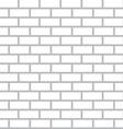 White Bricks Background - Seamless Flat Design vector image