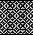 black and white geometric shapes background vector image vector image