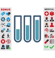 Blood Analysis Icon vector image vector image