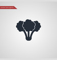 broccoli icon simple vegetable vector image vector image