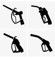 Gas pump pistol vector image vector image