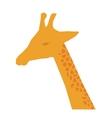 giraffe african animal vector image vector image