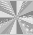 grey scale retro background vector image vector image
