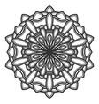 mandala flower design vector image vector image