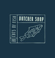stock fish cuts diagram vector image