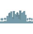 city building scenery vector image