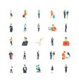 human color icons 10 vector image vector image