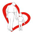 March 19 Fathers Day vector image vector image