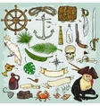 Pirates Collection vector image vector image