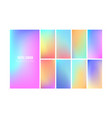 soft gradient color background wallpaper design vector image