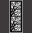 window ornament vector image