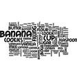 best recipes banana cream sandwich cookies text vector image vector image