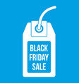 black friday sale tag icon white
