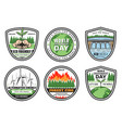 earth environment and ecology icons vector image vector image