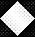 geometrical black and white circle pattern vector image vector image
