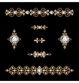 Jewelry decor vector image vector image