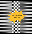 racing square abstraction in racing chess style vector image vector image