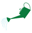 watering can hand drawn design on white vector image vector image