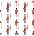 australian aborigine seamless pattern vector image vector image