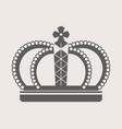 crown royalty accessory or headdress power vector image