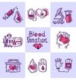 Donor Design Concept vector image