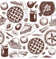 pattern with vintage baking