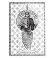 richard coeur de lion vintage vector image vector image