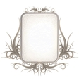 Vintage Gothic Frame with Free Space for Your Text vector image