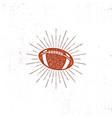 american football bal icon vector image