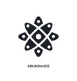 abundance isolated icon simple element from