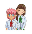 anime girl design vector image vector image