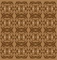 beautiful batik flower patterns as a traditional vector image vector image