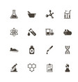 chemical - flat icons vector image vector image
