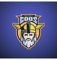 Football Gods Sport Team or League Logo vector image