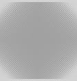 grey halftone dot pattern background - graphic vector image vector image