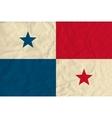 Panama paper flag vector image vector image